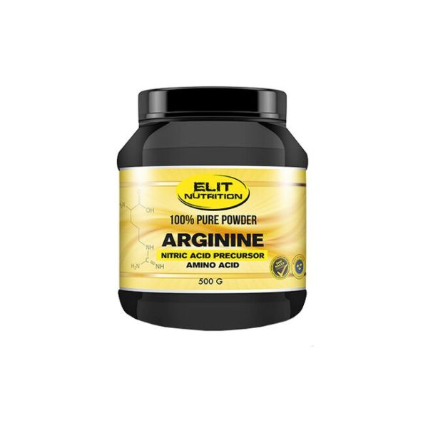 ELIT 100% Pure Powder L-arginine, 500 g