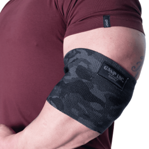 GASP Heavy Duty Elbow sleeve, Dark camo