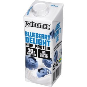 Gainomax Blueberry Delight High Protein 250 ml