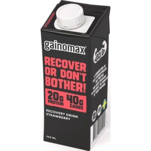 Gainomax Recovery Jordgubb 250ml