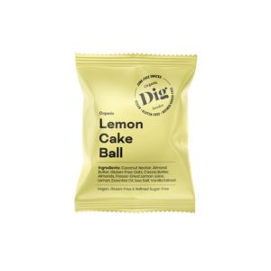 Get Raw Dig Organic Lemon Cake Ball 25 g