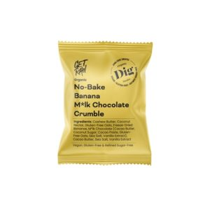 Get Raw No-Bake Banana M*lk Chocolate Crumble 35 g