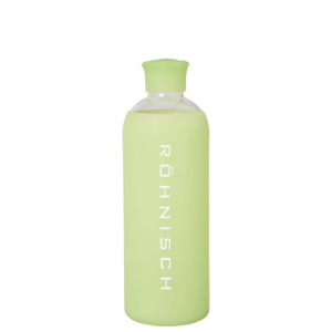 Glass Water Bottle, Lime