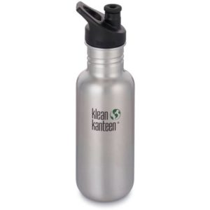 Klean Kanteen Classic with Sport Cap Brushed Stainless 532 ml