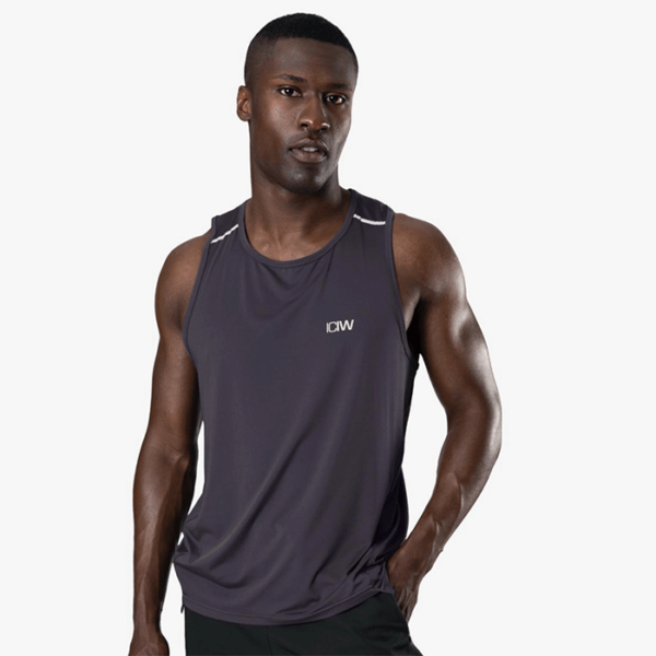 Lightweight Training Tank Top, Graphite