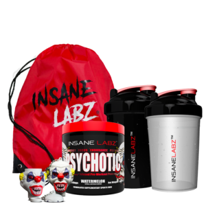 Psychotic Pre-Workout, 35 servings + free Insane Product