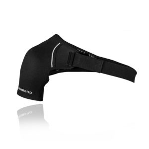 QD Shoulder Support, Left, 3mm, Black
