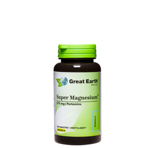 Super Magnesium 375 mg, 100 tabletter