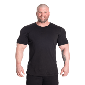 Classic Tapered Tee, Black