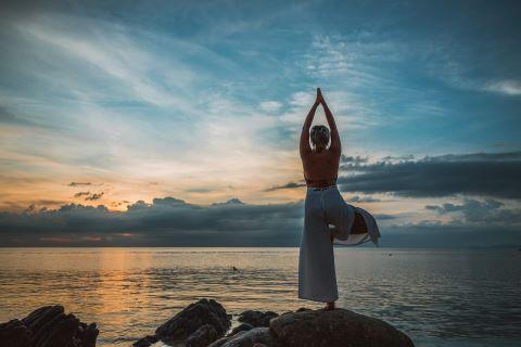 Välbalanserad och stark kvinna